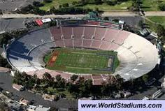 Rose Bowl - Pasadena, CA - We were there to see Purdue & Drew Brees play.......Purdue lost!  January 2001.