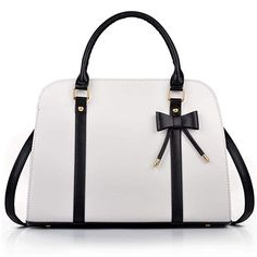 aeda51a72f COOFIT Lady Handbag Little Bow Leisure Top-Handle Bags Shoulder Bag Purses  and Handbags(