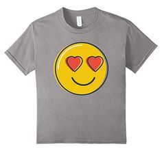 Love Emoji Heart Eyes Smiley Emoji T-Shirt