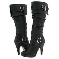 Zigi NY 'Neena' Black Knee-High Boots ~ One option to complete my #SeraphineStyletheLook