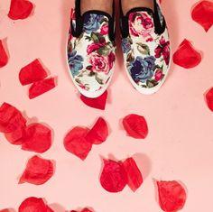 Totally feelin' florals! #iheartshimmer x @itskatriztrinidad