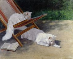 An Uninvited Guest Painting by Arthur Heyer - An Uninvited Guest Fine Art Prints and Posters for Sale