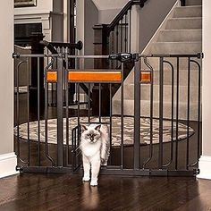 Doors and Flaps 116379: Carlson Pet Products Design Paw Extra Wide Walk Through Gate W Small Pet Door -> BUY IT NOW ONLY: $49.99 on eBay!