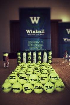 Winball. Ecologia y diseño aplicados al Padel. Si quieres saber como reciclar y volver a usar tus bolas de #padel pincha aquí http://padelgood.com/winball-ecologia-y-diseno-aplicados-al-padel-fantasticos/  #deportes #tenis