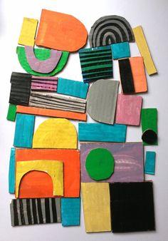 Formas y colores de Marcus Oakley | Kireei, cosas bellas