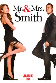 MR. AND MRS. SMITH (2005) Movie Poster