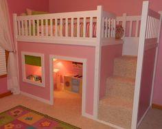 Kennen Sie das KURA Bett von IKEA? Sie können daraus etwas Wunderschönes machen! Nummer 6 ist echt fantastisch! - DIY Bastelideen