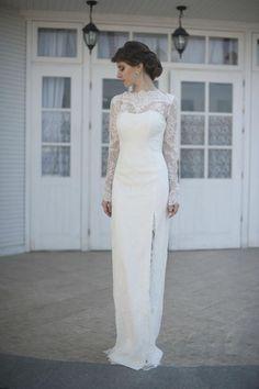 Lace Wedding Dress With Sleeves, Wedding Dresses Plus Size, Colored Wedding Dresses, Modest Wedding Dresses, Boho Wedding Dress, Bridal Lace, Designer Wedding Dresses, Bridal Dresses, Wedding Gowns