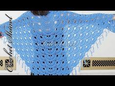 CROCHET How to #Crochet Womens Easy Poncho Shawl #TUTORIAL #257 LEARN CROCHET - YouTube