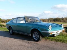 1969 Fiat Vigniale Samantha Coupe