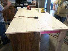 DIY Kitchen Island from Dresser