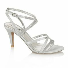 Explore the Lotus Shoes' range of quality Evening Sandals. Silver Sparkly Shoes, Sparkly Wedding Shoes, Bridal Shoes, Mid Heel Sandals, Strappy High Heels, Prom Heels, Evening Sandals, Wedding Accessories, Style Me