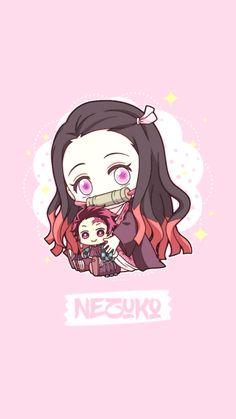 Fan Art chibi - Kimetsu No Yaiba so cute Cute Anime Chibi, Anime Girl Cute, Anime Kawaii, Anime Art Girl, Chibi Wallpaper, Anime Wallpaper Phone, Kawaii Wallpaper, Anime Angel, Anime Demon