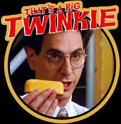 "80s Classic Ghostbusters Egon ""That's A Big Twinkie "" Custom Tee ...                                                                                                                                                                                 More"