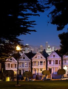 Painted Ladies - San Francisco, CA; this is one of my fav pics. I loved it as a child and have had it up in every home I've lived in. Would love to know the connection I have to it.