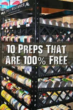 10 Preps That Are 100% Free - There are preppers who spend thousands of dollars per month on survival gear- tools, guns, ammo, and a whole bunch of other stuff. But not everyone has that kind of money. In fact, many people are scraping just to get by! For these people, prepping cheaply (or even free) is the only option.