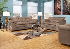 Valley Vista Latte Living Room Collection