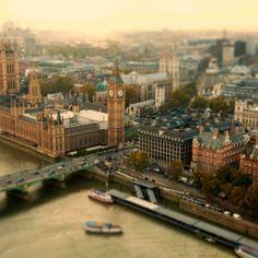 London Tilt Shift Amazing #iPad #Wallpaper HD