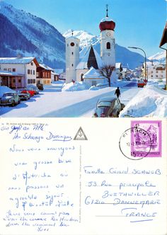 Sankt Anton am Arlberg - Tirol - 1982 Alps, Skiing, Summertime, Europe, The Incredibles, Country, Pictures, Cards, Ski