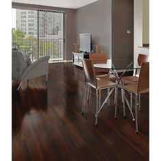Florida Tile Home Collection Beautiful Wood Cherry 8 in. x 36 in. Porcelain Floor and Wall Tile sq. / case) at The Home Depot - Mobile Home Collections, Wall Tiles, Interior And Exterior, Porcelain Floor, House Design, Tile Flooring, Flooring Ideas, Bathroom Ideas, Cherry