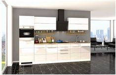 Kuechenzeile Cardiff Ii In 2019 Products Kitchen Cabinets