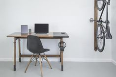 Created with one objective: to inspire and refine your personal workspace. Modeled after the traditional writing desk, it has been adapted to fit your modern needs so you can be more productive and energized.