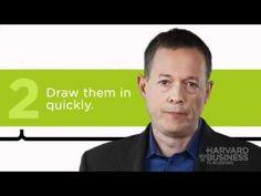 Create an Effective Presentation - Video - Harvard Business Review