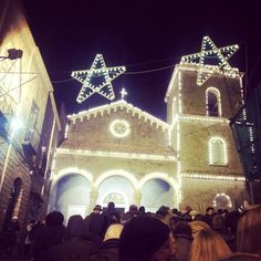 Living Nativity scenes in Sorrento at Casarlano village...every year thousand of people