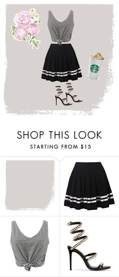 """""""Untitled #19"""" by wam1130 ❤ liked on Polyvore featuring WithChic, René Caovilla and MyStyle"""
