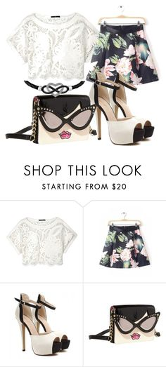 """""""Untitled #336"""" by sara-bitch1 ❤ liked on Polyvore featuring TIBI, Betsey Johnson and Jewel Exclusive"""