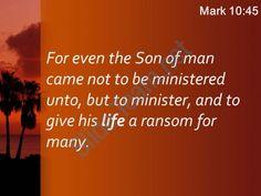 mark 10 45 the son of man did powerpoint church sermon Slide05 http://www.slideteam.net/