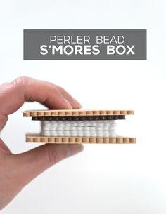 Hide Your Treasures in a DIY S'mores Box