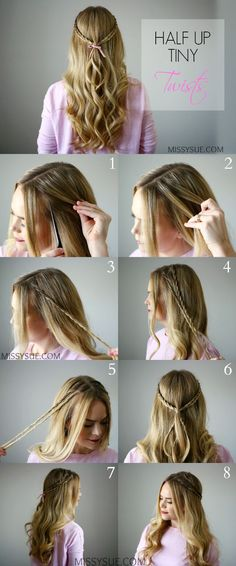 Simple hair styles - #Hair #simple #stylés Missy Sue Hair, Braided Half Up, Easy Hairstyles For School, Easy Hairstyles For Long Hair, Trendy Hairstyles, Messy Hairstyles, Short Hair, Wedding Hairstyles, Hair Inspo