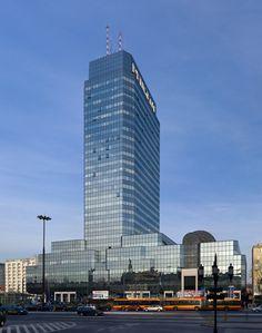Blue Tower Plaza- Błękitny Wieżowiec, Warsaw-Poland, 120 m.