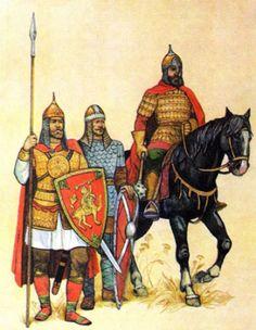 Воины древнерусского государства XIV- XVIвв