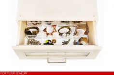 drawer dividers for organizing jewelry