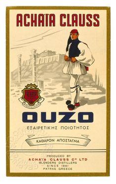Achaïa Clauss old vintage ad