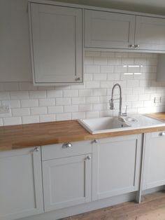 Kitchen Remodel Before And After, Kitchen Design Countertops, Kitchen Decor, Kitchen Remodel Small, Farmhouse Kitchen Countertops, Home Kitchens, Budget Kitchen Remodel, Kitchen Renovation, Kitchen Design