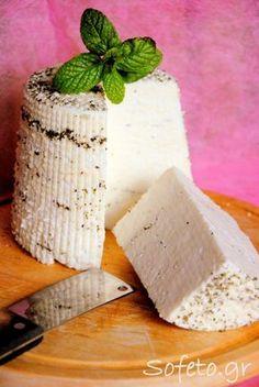 Πώς φτιάχνουμε κεφίρ και τυρί από κεφίρ How To Make Cheese, Food To Make, Making Cheese, Food Network Recipes, Cooking Recipes, The Kitchen Food Network, Homemade Cheese, Cooking With Kids, Kefir
