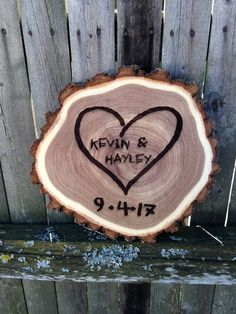 Sweetheart Carved Tree Log Wedding Sign, Wood Slice Sign for Newlyweds, Gift for Couples, Housewarmi Seriously sweet rustic elm sweetheart Sign! Hand-carved font is laser engraved into the wood making Parent Gifts, Gifts For Wife, Couple Gifts, Wedding Plaques, Wood Wedding Signs, Bride Gifts, Wedding Gifts, Tree Wedding, Diy Wedding
