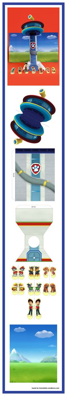 PAW Patrol Look-Out Tower Theater Craft
