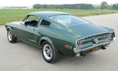 1968 Ford Mustang GT 390 Fastback.