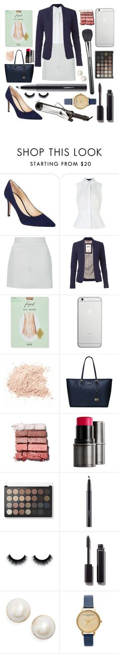 """In the office"" by annalaris on Polyvore featuring Barneys New York, Alexander Wang, Topshop, Tommy Hilfiger, Fogal, Native Union, MICHAEL Michael Kors, Bobbi Brown Cosmetics, Burberry and MAC Cosmetics"