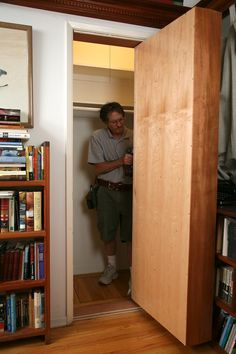 hidden room bookcase tutorial. WHERE HAS THIS BEEN ALL MY LIFE