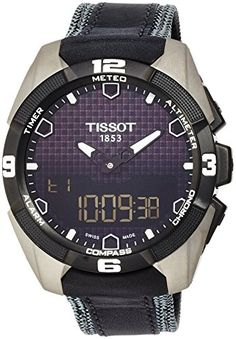 44a8a0f6309c Tissot Mens T0914204605101 TTouch Expert Titanium Watch     Find out more  about the great