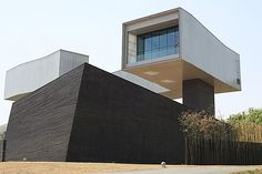 Sifang Art Museum,China by Steven Holl Architects