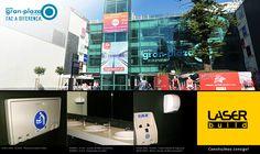 Porto Gran-Plaza, com produtos Koala Kare, Bobrick e Mediclinics.  #KoalaKare #Mediclinics #Bobrick #LaserBuild #WC #Arquitectura #Engenharia #Construção #Shopping #Porto #GranPlaza