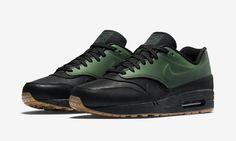 Available now. Nike Air Max 1 Vac Tech Gorge Green.  http://ift.tt/1Qfjr2l