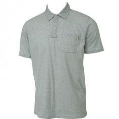 Oneill Mens Knit Henson Polo Shirt Blue