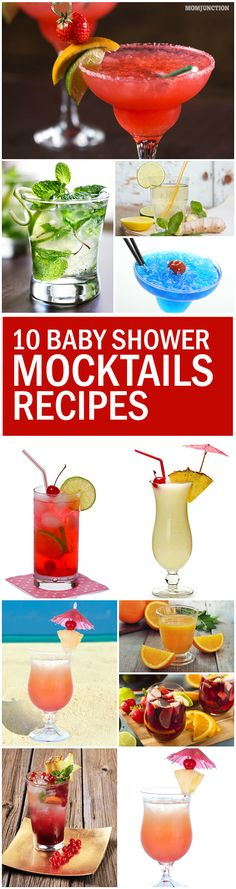 Pregnant & looking forward to your baby shower? Planned the menu but detest the idea of serving colas? Here are baby shower mocktails that can spice up your menu